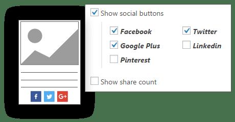 Sociale - Content Visualizzazioni Pro for WordPress