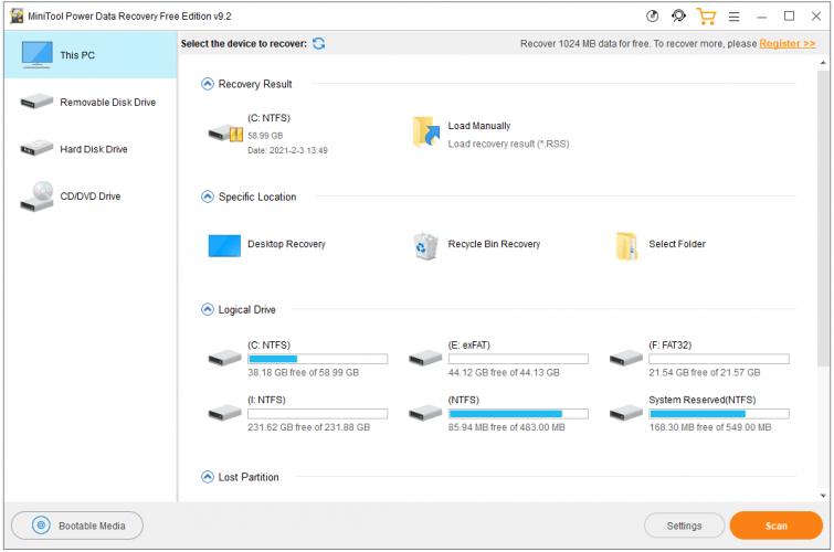 recuperare gli screenshot mancanti su Windows 10